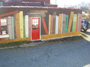 Circle City Books Mural