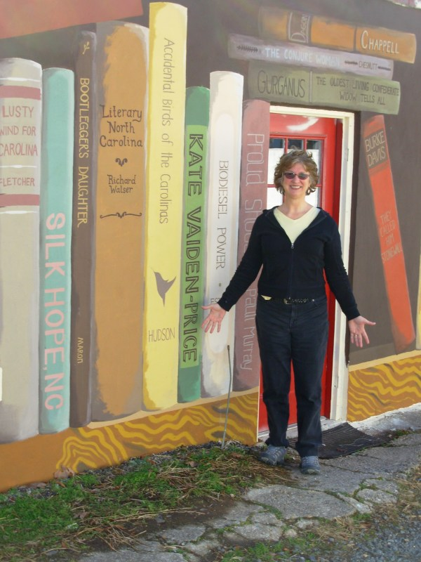 New Circle City Books Mural in Pittsboro